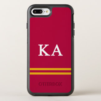 Kappa Alpha Order | Sport Stripe OtterBox Symmetry iPhone 7 Plus Case