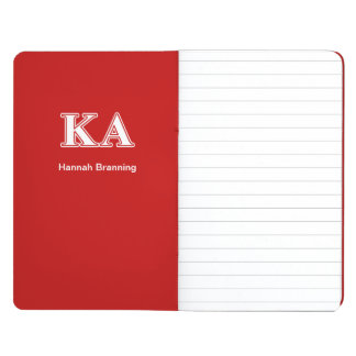 Kappa Alpha Order White and Red Letters Journal