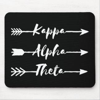 Kappa Alpha Theta | Arrows Mouse Pad