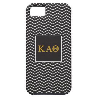 Kappa Alpha Theta   Chevron Pattern iPhone 5 Cover