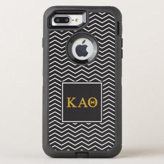 Kappa Alpha Theta | Chevron Pattern OtterBox Defender iPhone 7 Plus Case