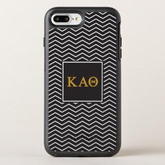 Kappa Alpha Theta   Chevron Pattern OtterBox Symmetry iPhone 8 Plus/7 Plus Case