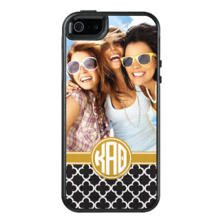 Kappa Alpha Theta | Custom Monogram Pattern OtterBox iPhone 5/5s/SE Case