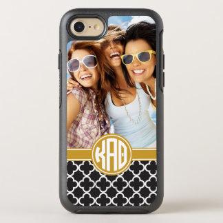 Kappa Alpha Theta   Custom Monogram Pattern OtterBox Symmetry iPhone 8/7 Case