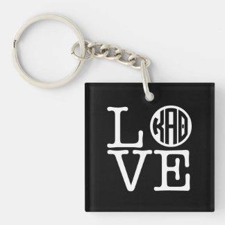 Kappa Alpha Theta | Love Key Ring