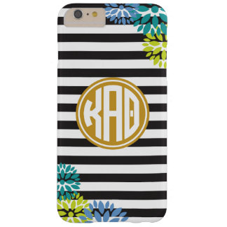 Kappa Alpha Theta   Monogram Stripe Pattern Barely There iPhone 6 Plus Case