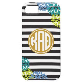 Kappa Alpha Theta | Monogram Stripe Pattern iPhone 5 Case