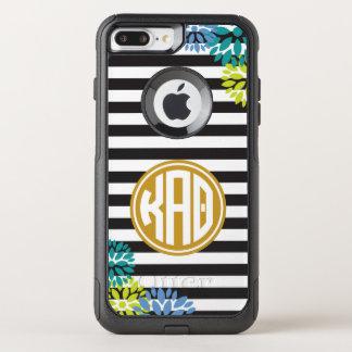 Kappa Alpha Theta | Monogram Stripe Pattern OtterBox Commuter iPhone 7 Plus Case
