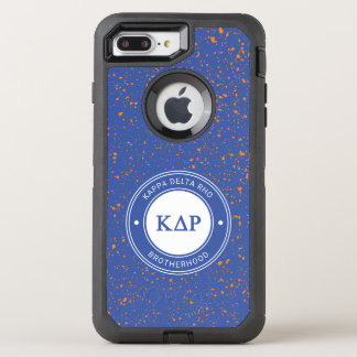 Kappa Delta Rho | Badge OtterBox Defender iPhone 8 Plus/7 Plus Case