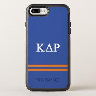 Kappa Delta Rho | Sport Stripe OtterBox Symmetry iPhone 8 Plus/7 Plus Case