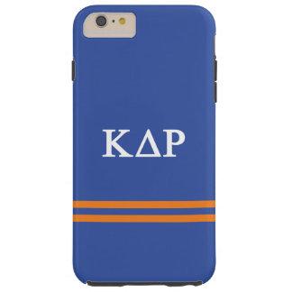 Kappa Delta Rho   Sport Stripe Tough iPhone 6 Plus Case
