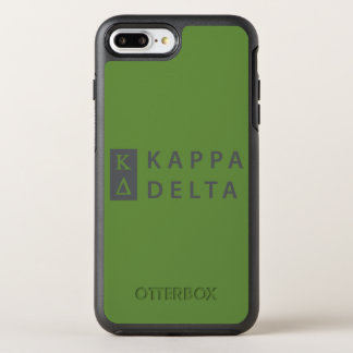 Kappa Delta Stacked OtterBox Symmetry iPhone 8 Plus/7 Plus Case
