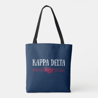 Kappa Delta USA Tote Bag