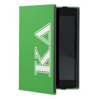 Kappa Delta White Letters Cover For iPad Mini