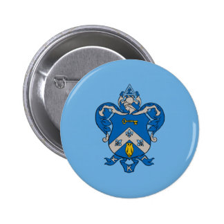 Kappa Kappa Gama Coat of Arms 6 Cm Round Badge