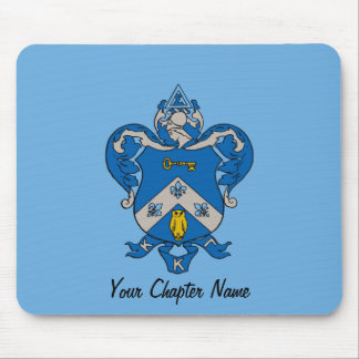Kappa Kappa Gama Coat of Arms Mousepad