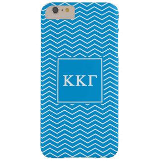 Kappa Kappa Gamma   Chevron Pattern Barely There iPhone 6 Plus Case