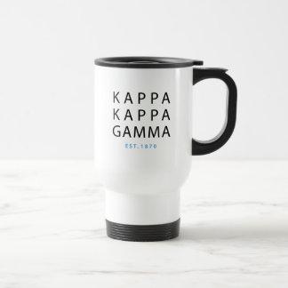 Kappa Kappa Gamma | Est. 1870 Travel Mug