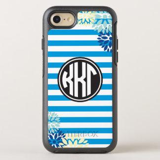 Kappa Kappa Gamma | Monogram Stripe Pattern OtterBox Symmetry iPhone 8/7 Case