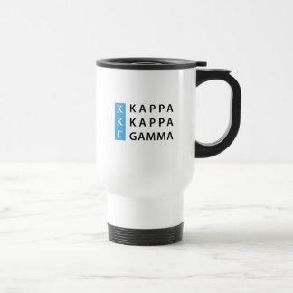 Kappa Kappa Gamma | Stacked Logo Travel Mug