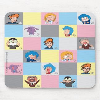 Kappa Mikey™ Boxes Mousepad