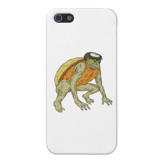Kappa Monster Crouching Drawing iPhone 5 Case