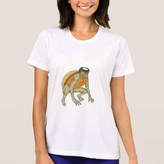 Kappa Monster Crouching Drawing T-Shirt