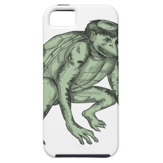 Kappa Monster Crouching Tattoo Case For The iPhone 5