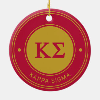 Kappa Sigma | Badge Ceramic Ornament
