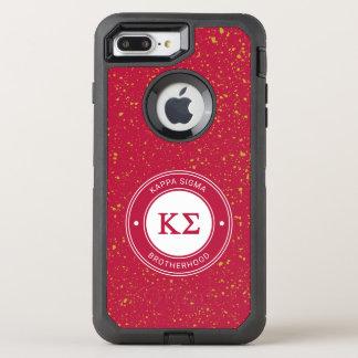 Kappa Sigma | Badge OtterBox Defender iPhone 8 Plus/7 Plus Case