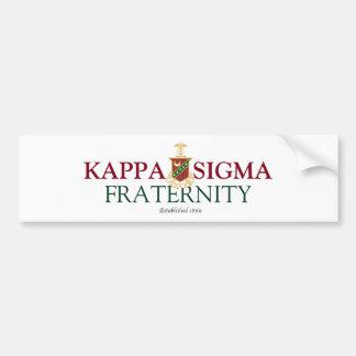 Kappa Sigma Bumper Sticker