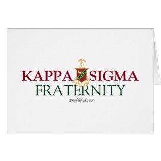 Kappa Sigma Card