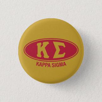 Kappa Sigma | Vintage 3 Cm Round Badge