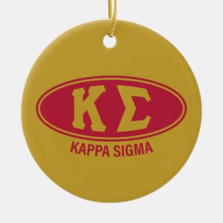 Kappa Sigma | Vintage Ceramic Ornament