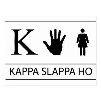 Kappa Slappa Ho Postcard