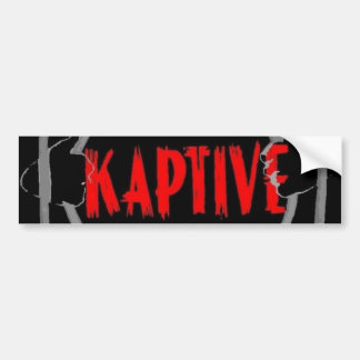 KAPTIVE Logo Bumper Sticker