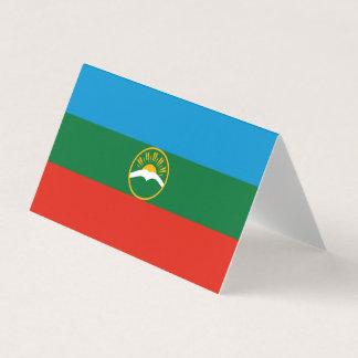 Karachay-Cherkessia Flag Business Card