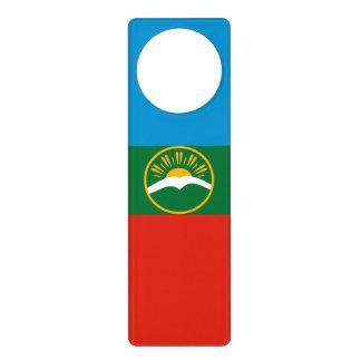 Karachay-Cherkessia Flag Door Hanger