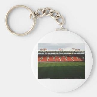 karaiskaki  football terrain basic round button key ring