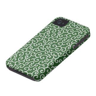 KARAKUSA - arabesque arabesque pattern iPhone 4 Cover