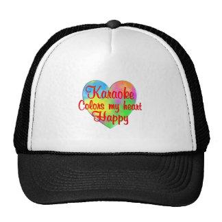 Karaoke Colors My Heart Happy Cap