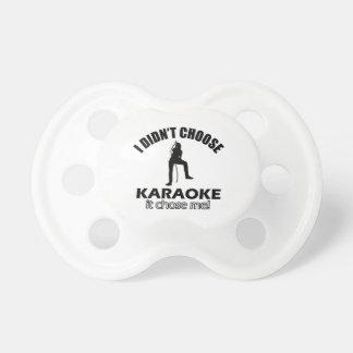 karaoke designs dummy