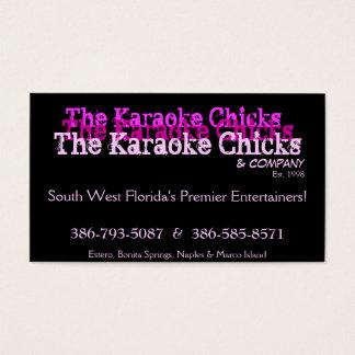 Karaoke Entertainment  Card