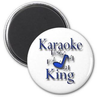 Karaoke King Fridge Magnets