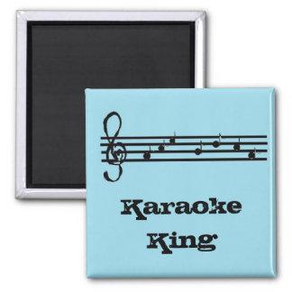 Karaoke King - magnet