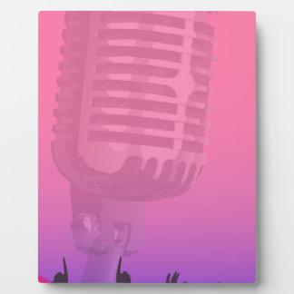 Karaoke Night Audience Poster Photo Plaque