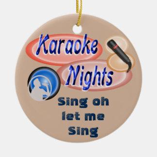 Karaoke - ornament
