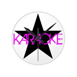 Karaoke Wallclocks