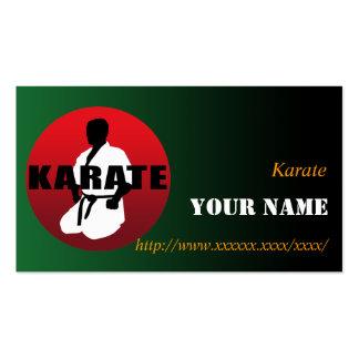KARATE 01 BUSINESS CARD
