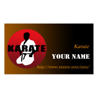 KARATE 01 BUSINESS CARDS